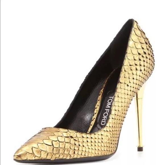 351e962663 Tom Ford Shoes | Sold Python Heels 8 | Poshmark